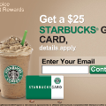 120x120 - Startbucks - $25 GC
